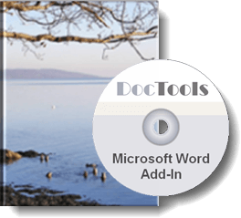 Word Add-In from DocTools