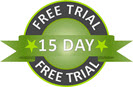 15 day free trial - try before you buy